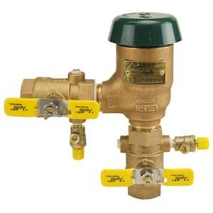 1 in. Bronze FIP Pressure Vacuum Breaker
