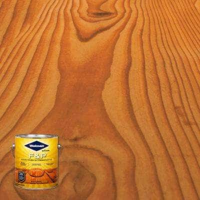 1 gal. F&P Natural Exterior Wood Stain Finish and Preservative (4-Pack)