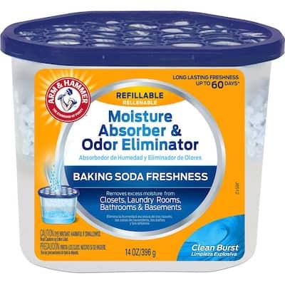 14 oz. Refillable Moisture Absorber and Odor Eliminator Clean Burst Scent