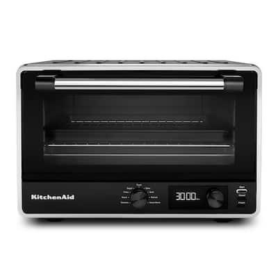 Matte Black Digital Countertop Oven
