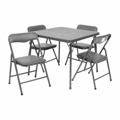 Gray Kids Game and Activity Table Sets