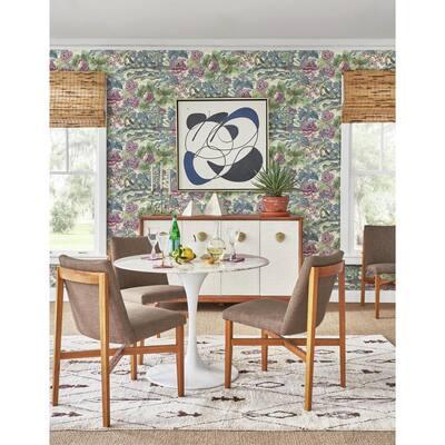 Plum Wallpaper Home Decor The Home Depot