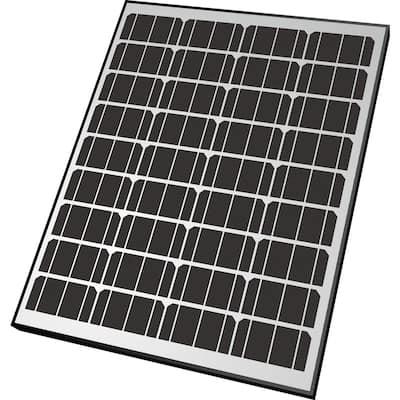 90-Watt Monocrystalline Solar Panel