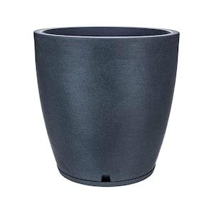 Amsterdan X-Large Dark Grey Resin Planter Bowl
