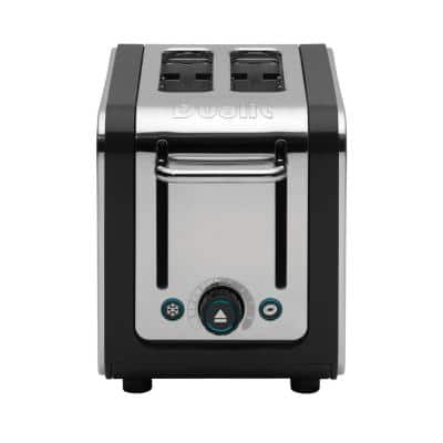 Design Series 2-Slice Stainless Steel Toaster with Crumb Tray