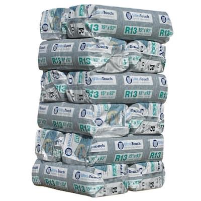 R-13 Denim Insulation Batts 15 in. x 93 in. (12-Bags)