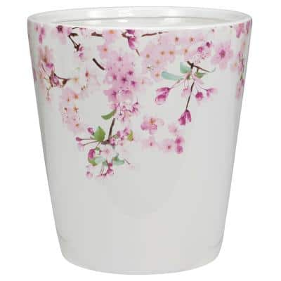 Cherry Blossoms Waste Basket