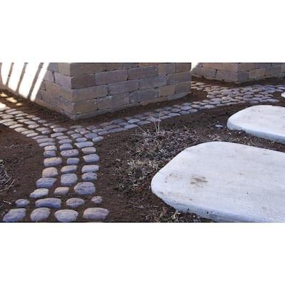 12 in. x 12 in. Square Step Stream Stone (8-Pack)