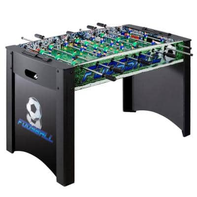 Playoff 4 ft. Foosball Table, Soccer Game for Kids and Adults with Ergonomic Handles, Analog Scoring and Leg Levelers
