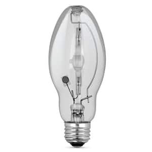 100-Watt ED17 Shape Clear Metal Halide High Intensity Discharge E26 Medium Base HID Light Bulb (1-Bulb)
