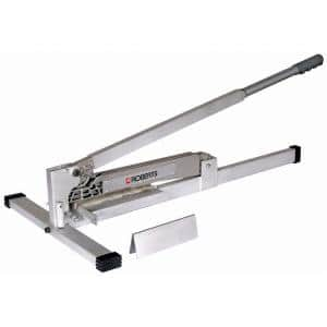 9 in. Flooring Cutter with 45 Degree Miter Guide