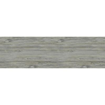 1/4 in. x 5.1 in. x Varying Lengths Slate Grey HDF White Oak Shiplap Wall Plank (20 sq. ft./Carton)