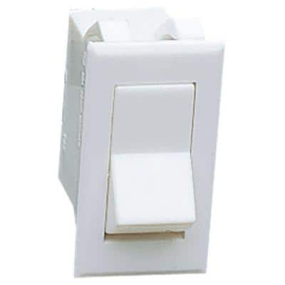 Ambiance Collection White Rocker Style Switch