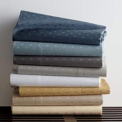 Legends Luxury Dot Cobblestone Cotton Sateen Oversized Queen Duvet Cover