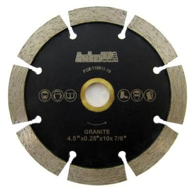 4.5 in. Tuck Point Diamond Blade for Mortar Removal and Grooving