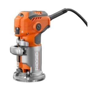 5.5 Amp Corded Compact Fixed-Base Router