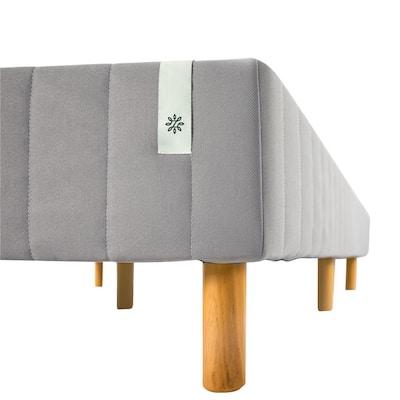 Good Design Winner Grey Metal Narrow Twin 16 in. Mattress Foundation