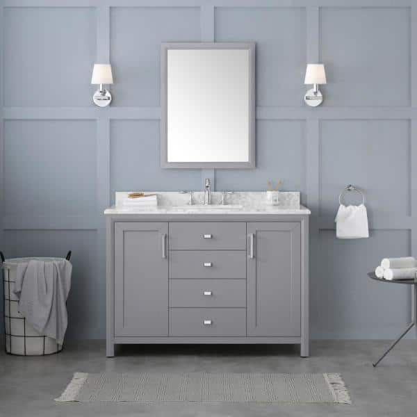 Pebble Grey Rockleigh Smr, Pebble Grey Bathroom Cabinets