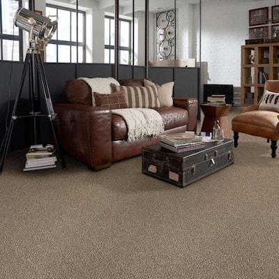 Toulon - Color Thornwood Indoor/Outdoor Texture Beige Carpet