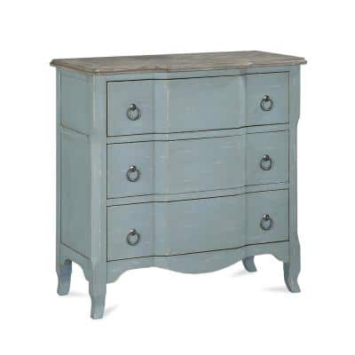 Vesey Antique Teal Accent Chest
