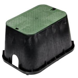 14 in. x 19 in. Standard Valve Box with Overlapping ICV Cover