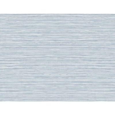 Luxe Sisal Sea Breeze Vinyl Peel & Stick Wallpaper Roll (Covers 40.5 Sq. Ft.)