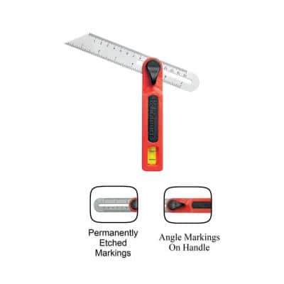 7 in. T-Bevel with Stainless Steel Blade