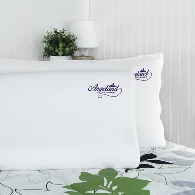 Angeland Hypoallergenic Memory Foam Standard Pillow (Set of 2)