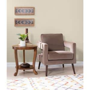 Whither Hazelnut Accent Side Table