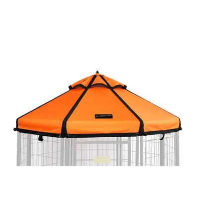 Desert Sunset Polyester Canopy for 5 ft. Pet Gazebo