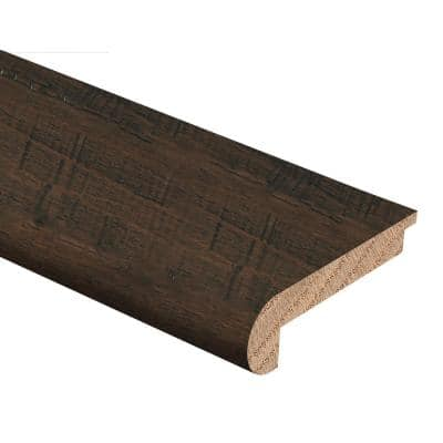 Strand Woven Bamboo Wellington 3/8 in. Thick x 2-3/4 in. Wide x 94 in. Length Hardwood Stair Nose Molding Flush