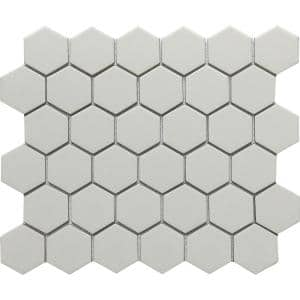 Concept Fawn 10.63 in. x 12.4 in. Honeycomb Semi-gloss Glass Mosaic Tile (0.915 sq. ft./Each)