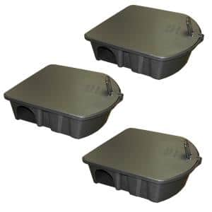 Rat and Mouse Bait Station (3-Pack)