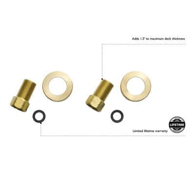Kitchen Faucet Water Supply Line Extension Kit