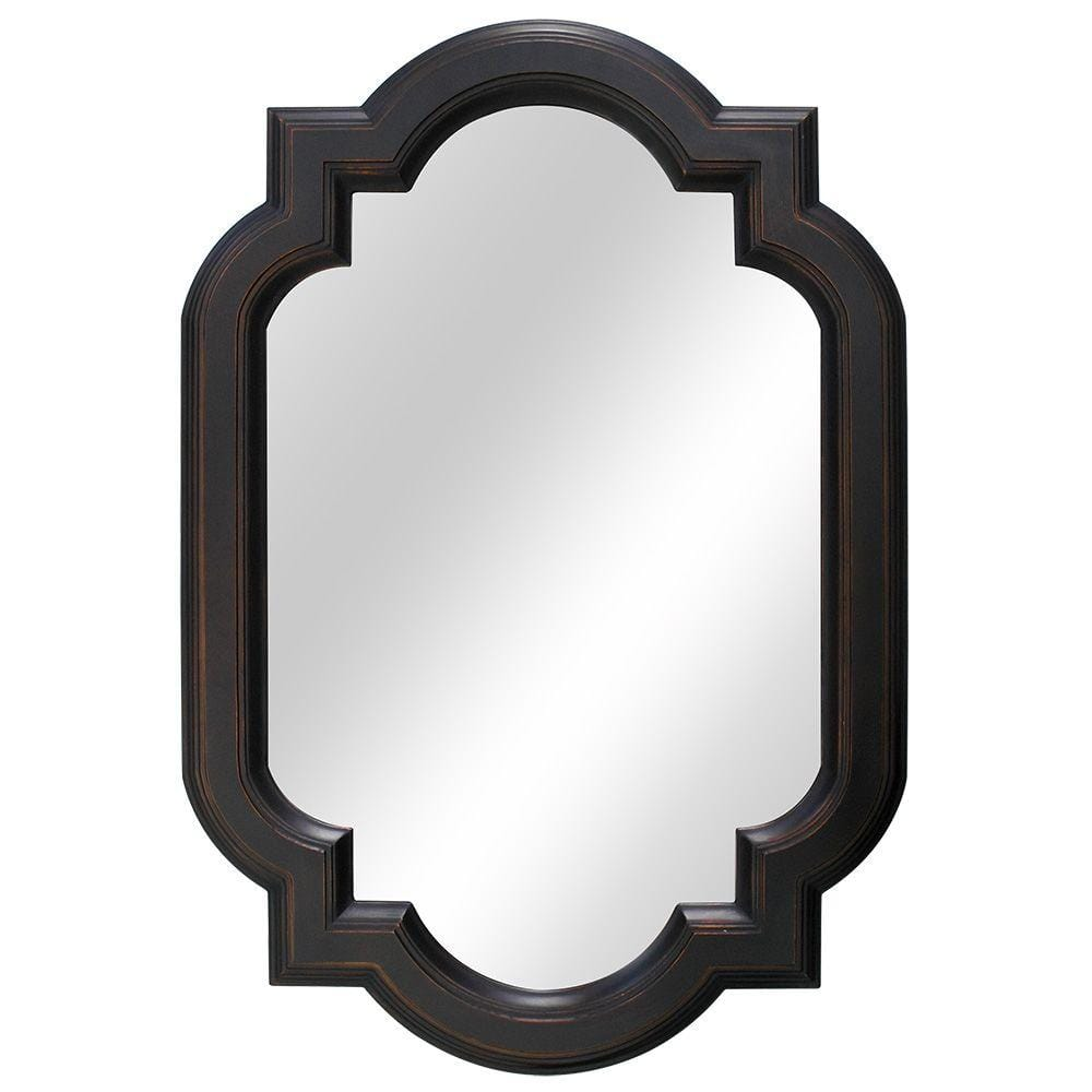 Home Decorators Collection 22 In W X 32 In H Framed Oval Anti Fog Bathroom Vanity Mirror In Oil Rubbed Bronze 81161 The Home Depot