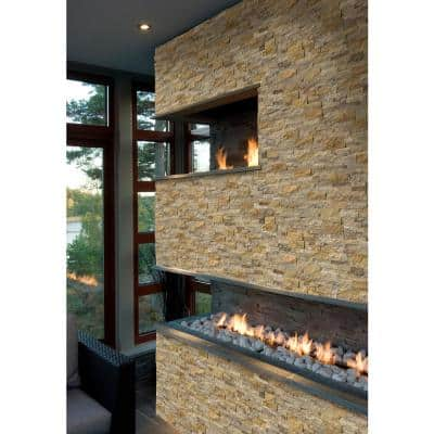 Picasso Ledger Panel 6 in. x 24 in. Natural Travertine Wall Tile (1 sq. ft.)