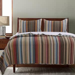 Durango 3-Piece Multicolored King Quilt Set