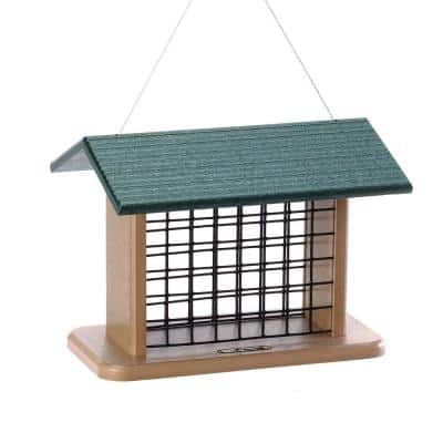 Recycled Seed and Suet Block Feeder