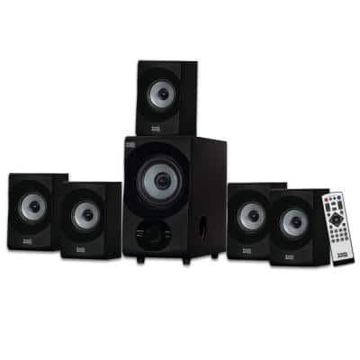 Bluetooth Home Theater 5.1 Speaker System with USB / SD