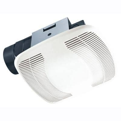 Snap-In Installation 100 CFM Bathroom Exhaust Fan
