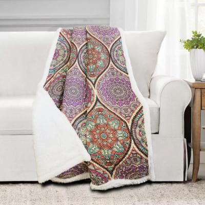 Tamara Quilted 50 in. x 60 in. Throw