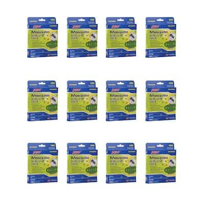 4 Mosquito Repellent Coils (12-Pack)