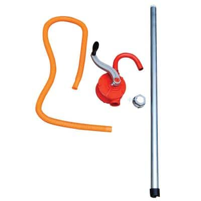 Steel Manual Drum Pump with 2 in. Bung Size