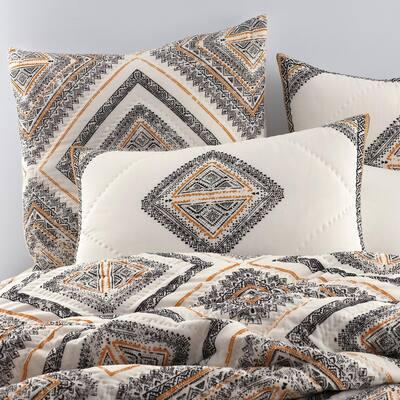 Tiles Geometric Cotton Quilt