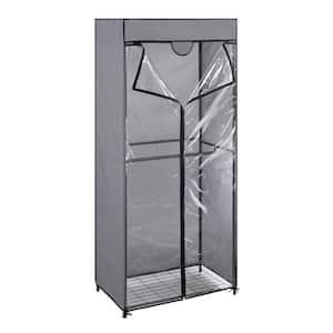 Gray Portable Closet (30 in. W x 69 in. H)