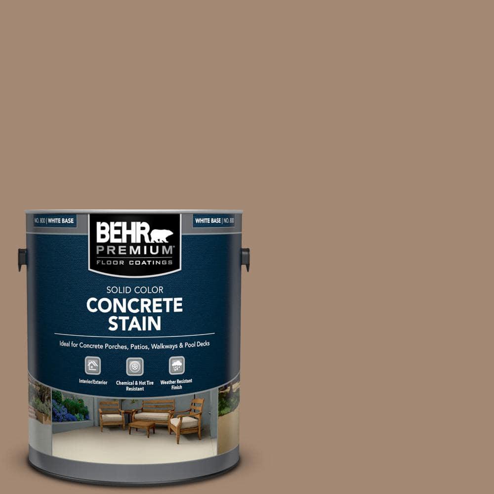 BEHR PREMIUM 1 gal. #PFC-19 Pyramid Solid Color Flat Interior/Exterior Concrete Stain