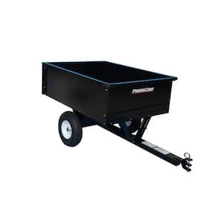 10 cu. ft. Lawn Mower Dump Cart with Wheels