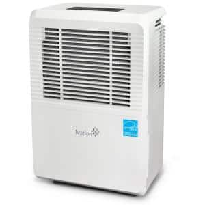 50-Pint ENERGY STAR Compressor Dehumidifier with Programmable Humidistat & Hose Connector With Pump up to 4,500 sq ft.