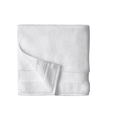 Egyptian Cotton Bath Towel in White