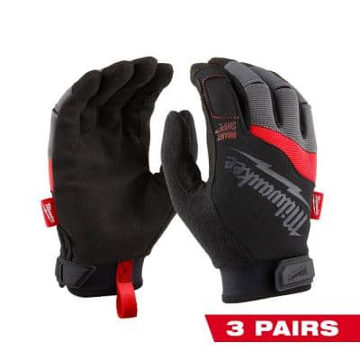 X-Large Performance Work Gloves (3-Pack)